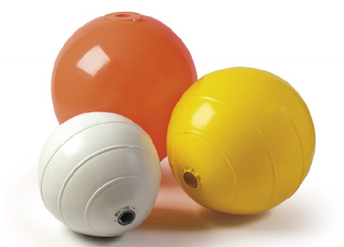 Inflatable buoys